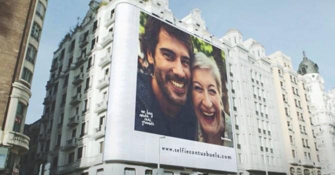 una selfie con tu abuela